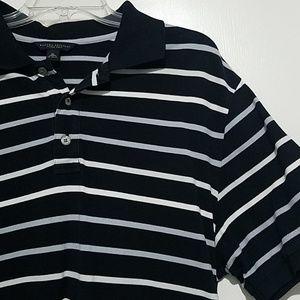 Banana Republic Fitted Polo Short Sleeve Shirt